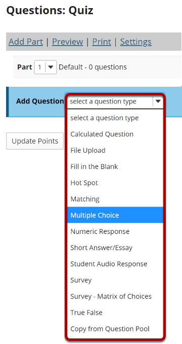 From the Add Question drop-down menu, select Multiple Choice..png