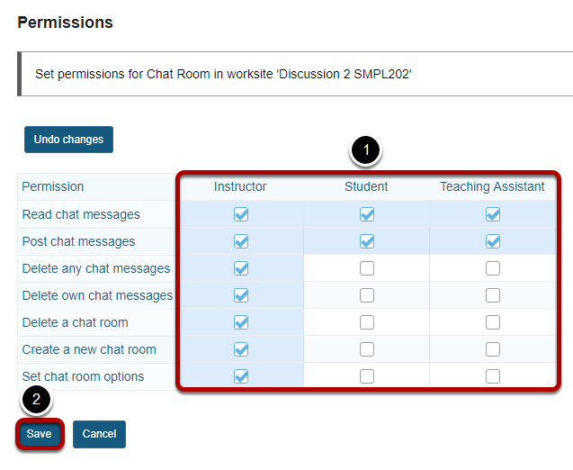 Modify the permissions for the roles listed - Chat Room.png