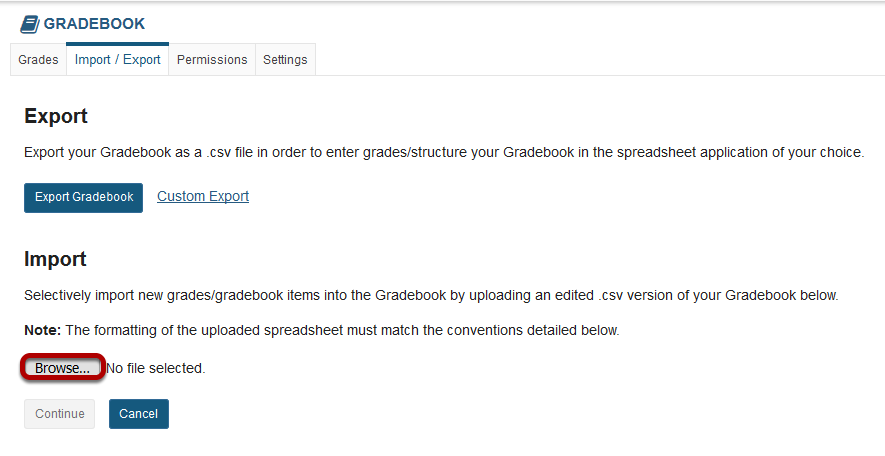 Return to Gradebook - Import-Export to browse for and select your import file.png