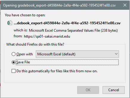 The export will download as a .csv file.png