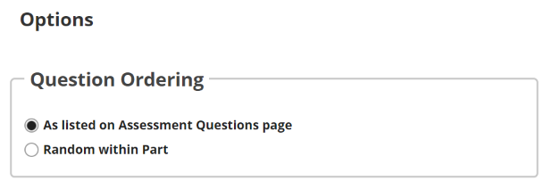 "If ""Questions authored one-by-one"" is selected, the following options will display.png"